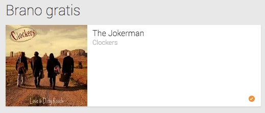 The Jokerman dei Clockers è il singolo gratuito di questa settimana