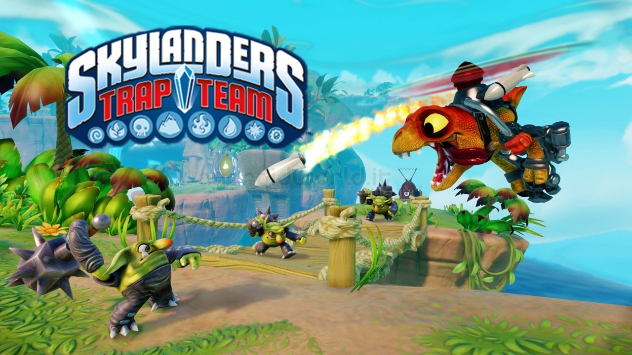 Skylanders Trap Team Header