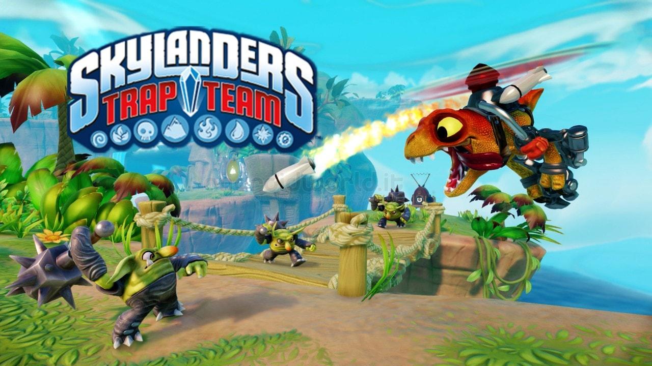 Skylanders Trap Team Header