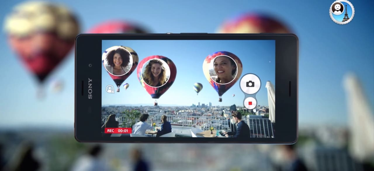 Sony mostra Face In, la nuova funzionalità per scatti più social (video)