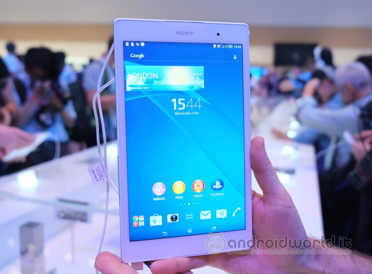 Sony Xperia Z3 Tablet Compact 1