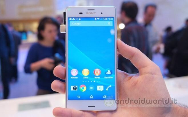 Sony Xperia Z3 anteprima 02