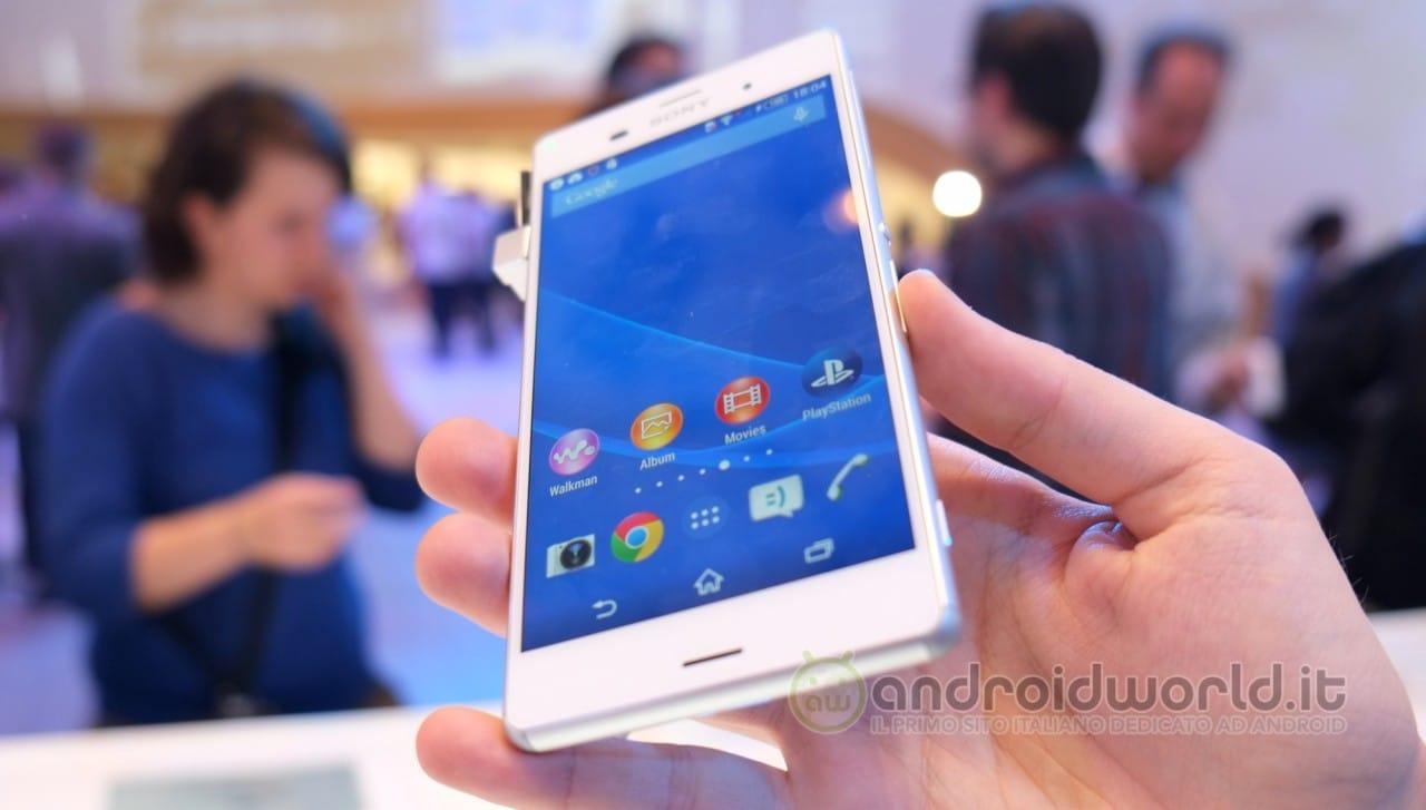 Sony Xperia Z3 anteprima 03