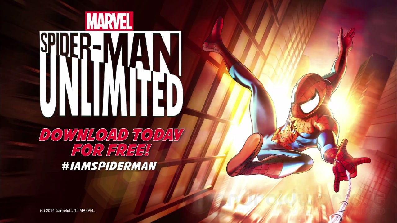 Spider-Man Unlimited Android Header