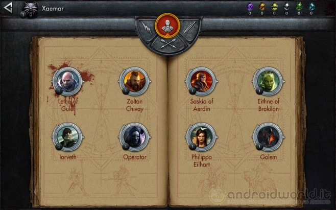 The Witcher Battle Arena Android Sample (1)