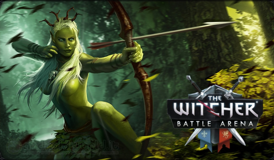 The Witcher Battle Arena Beta Header