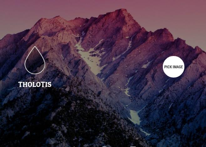 Tholotis_applicazione_sfondi sfocati
