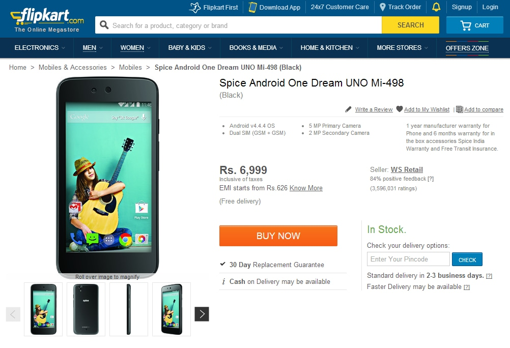 android one dream