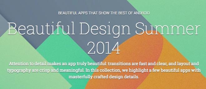 beautiful design summer 2014