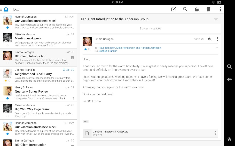Un client email elegante e funzionale: Boxer | AndroidWorld