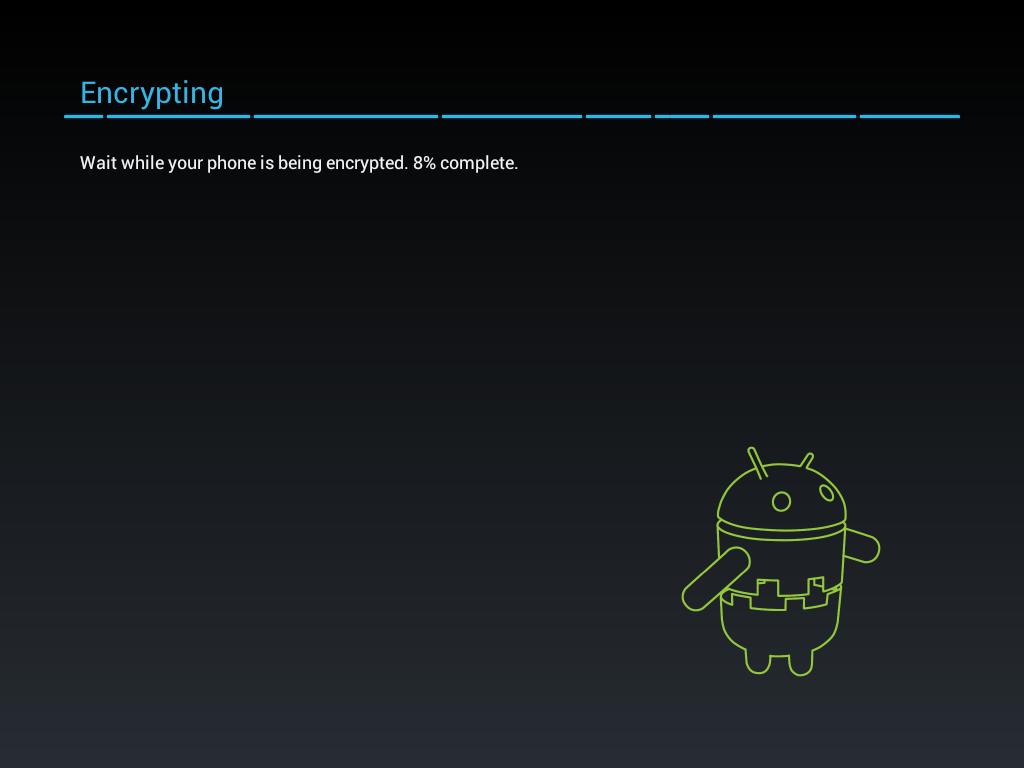 criptaggio android