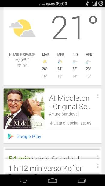 google now album
