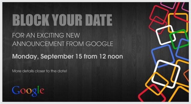 Evento Google il 15 settembre in India: lancio di Android One imminente?