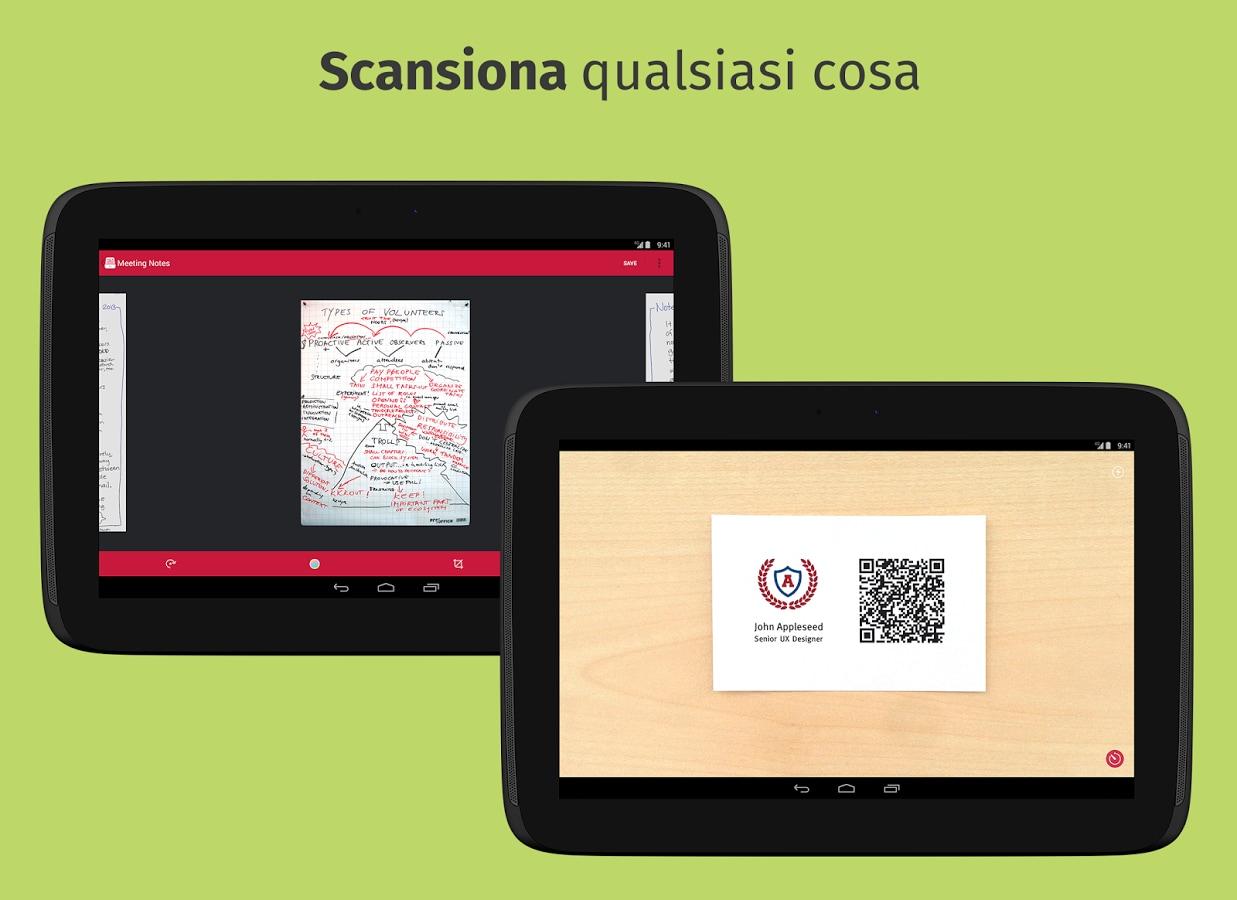 Scanbot: un comodo scanner portatile nel vostro smartphone
