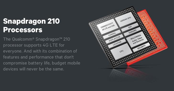 Qualcomm Snapdragon 210: connettività LTE, ma niente 64-bit