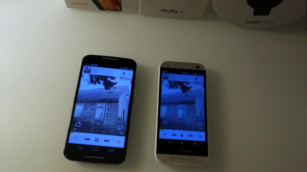 Questioni di volume: HTC One Remix (con BoomSound) vs Motorola Moto X