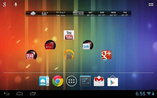 Come riportare l'interfaccia tablet di Honeycomb su KitKat