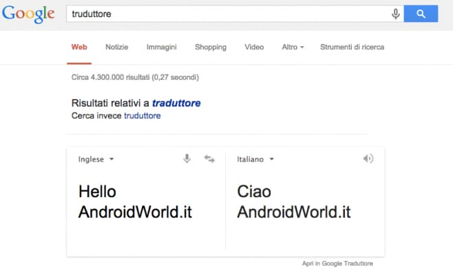 translate google now
