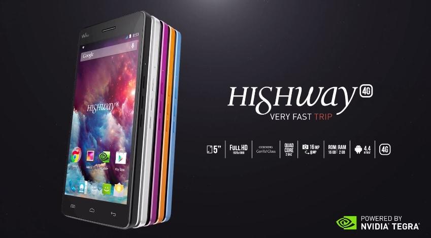 Wiko Highway 4G ufficiale: caratteristiche del nuovo smartphone della casa francese