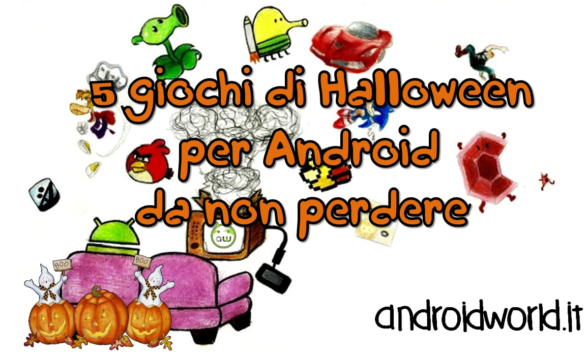 5 giochi di halloween per Android da non perdere Title