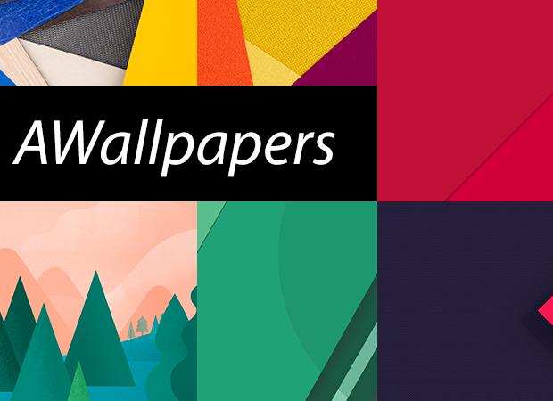 Material design 8 sfondi gratuiti per android androidworld for Sfondi material design