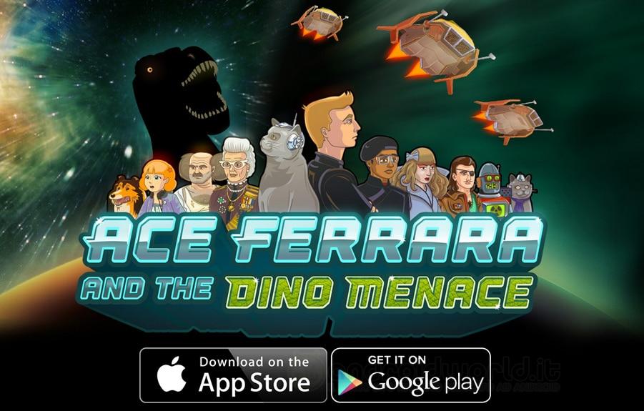 Ace Ferrara & The Dino Menace Android Header
