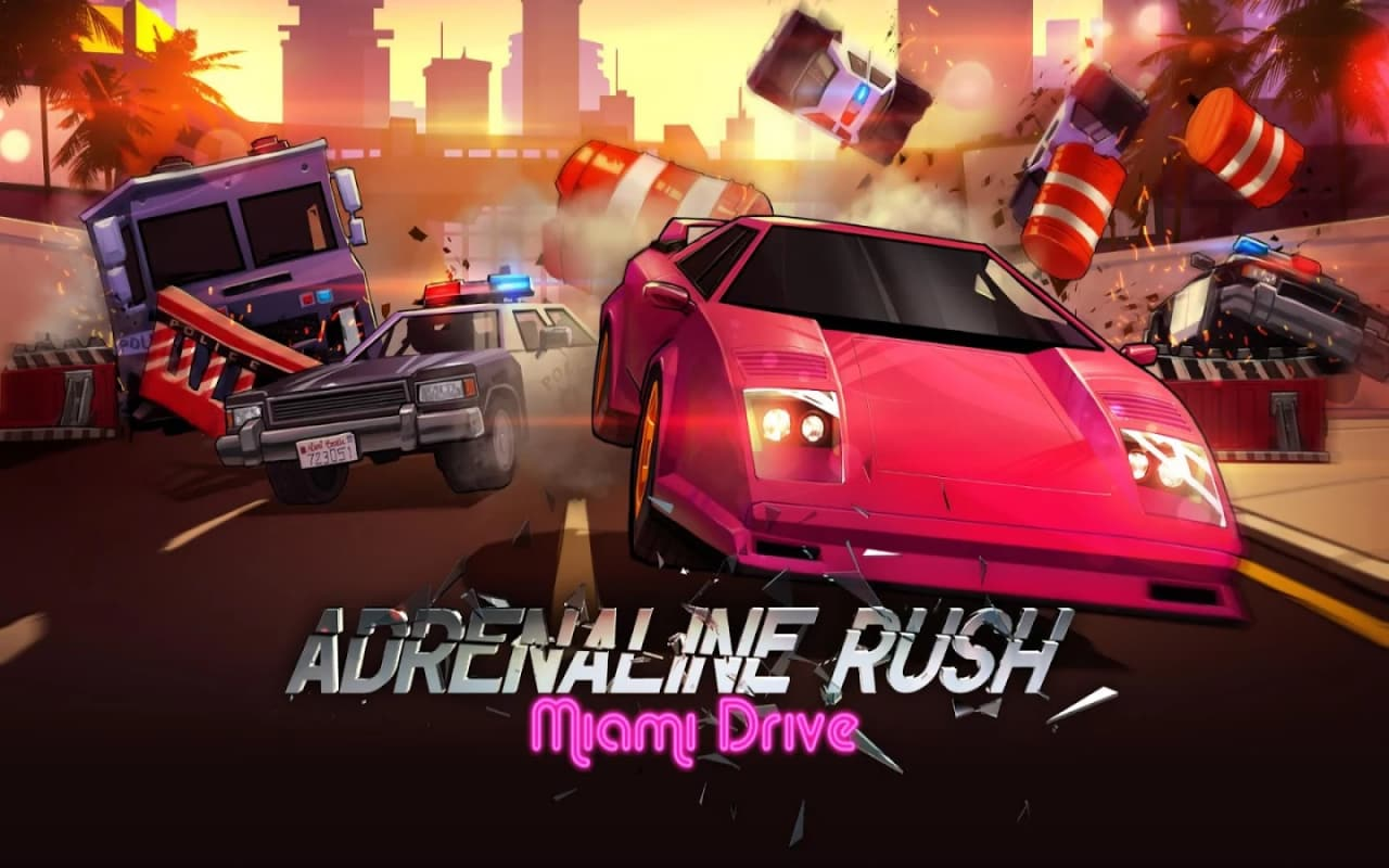 Adrenaline Rush - Miami Drive Header