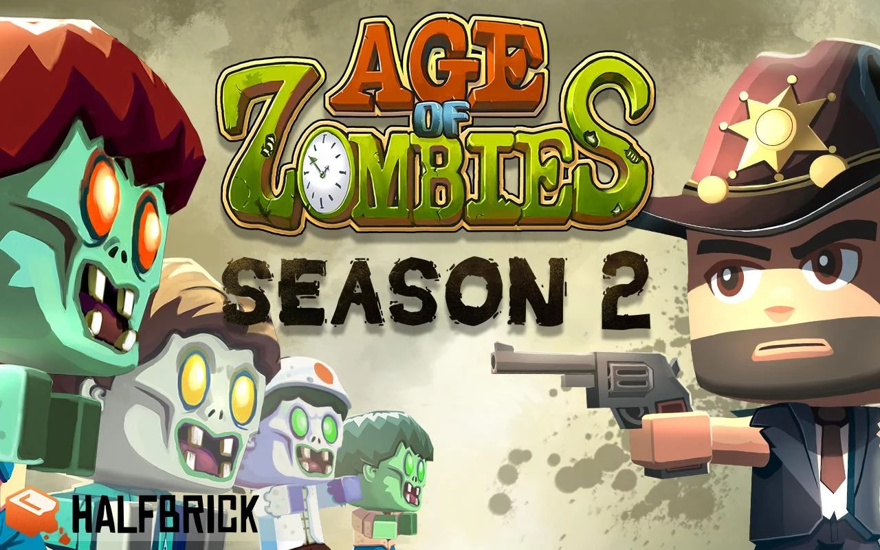 Age of Zombies Season 2 Copertina