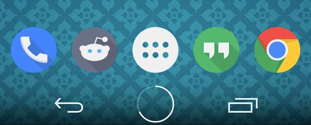 Un tasto home stile Android L che vi indica anche la batteria rimanente (video)