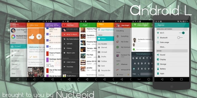 Android L tema