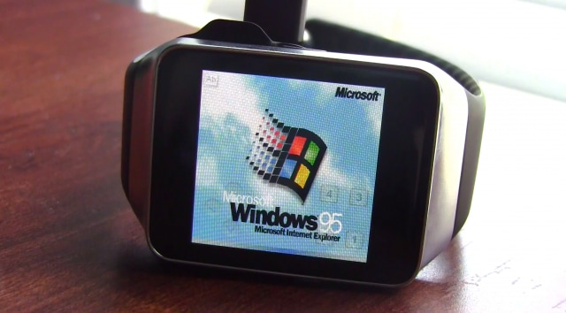 Android Wear Gear Live Windows 95