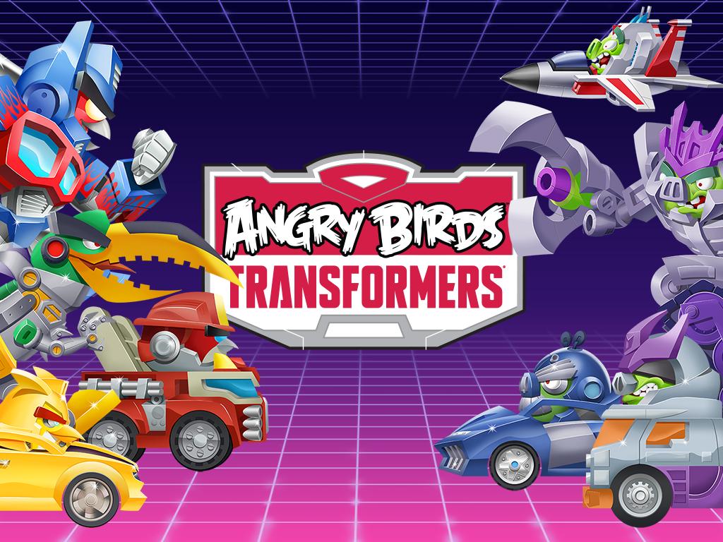 Angry Birds Transformers Copertina