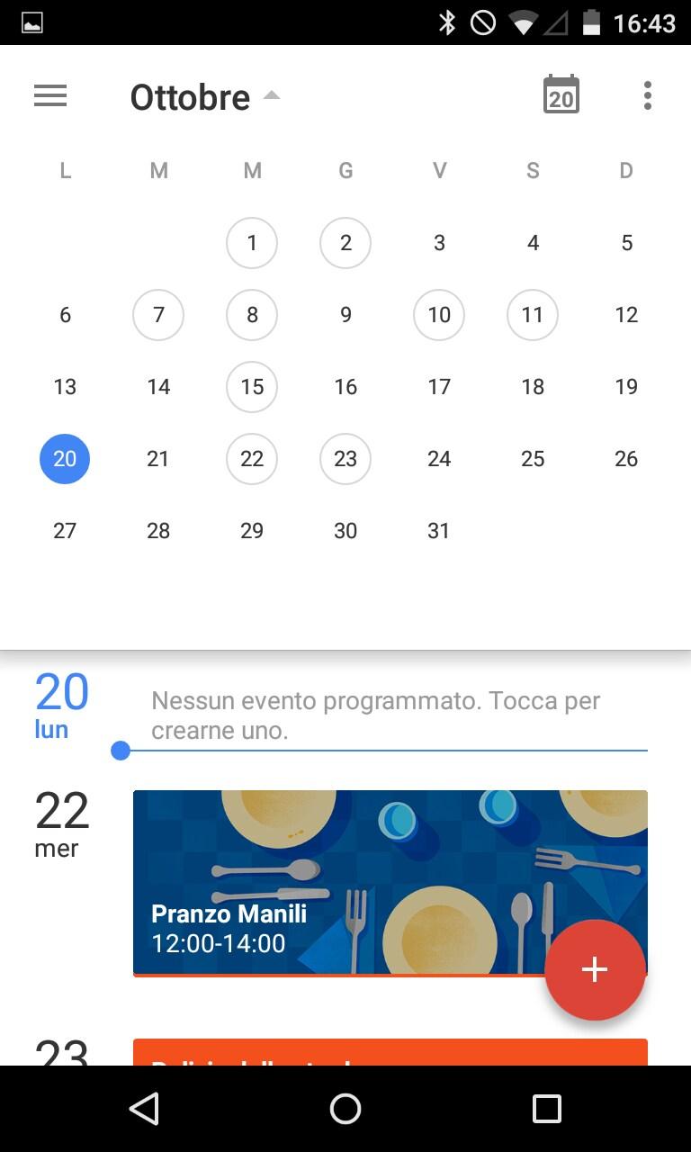 Calendar – 1