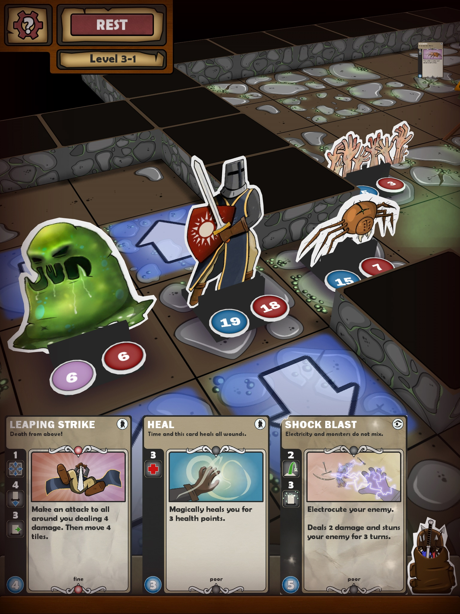 Card dungeon un po 39 gioco da tavolo un po 39 rpg e un po - Dungeon gioco da tavolo ...
