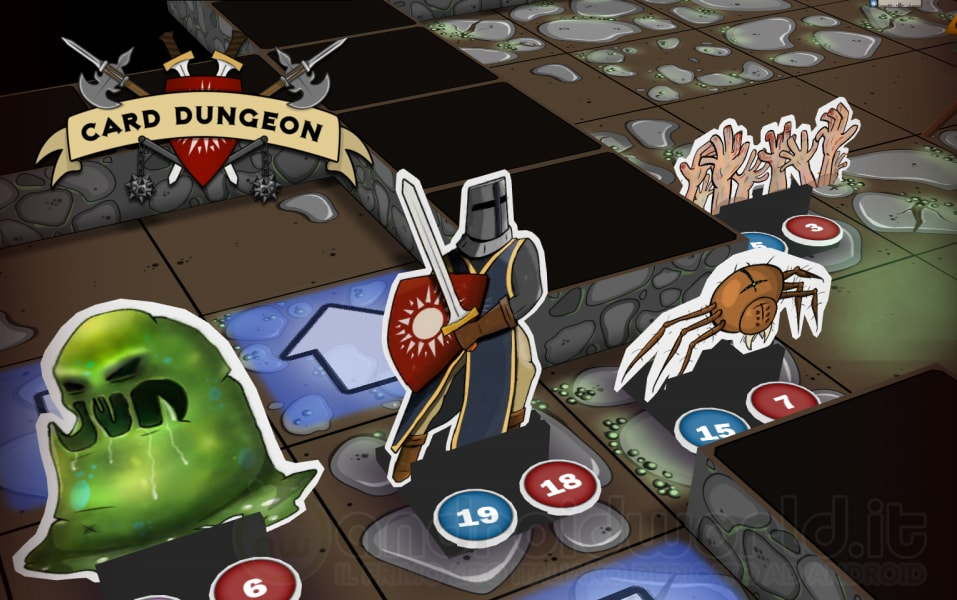 Card dungeon la recensione dello strano gioco da tavolo ibrido androidworld - Dungeon gioco da tavolo ...