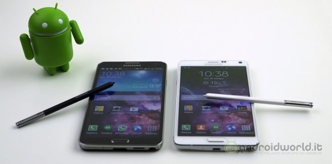 Confronto Note 3 Note 4 01 copy