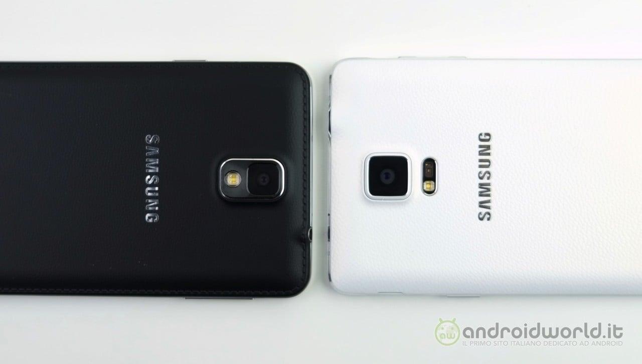 Galaxy S6 dovrebbe avere la stessa fotocamera di Galaxy Note 4