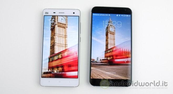 Confronto Xiaomi Meizu 1