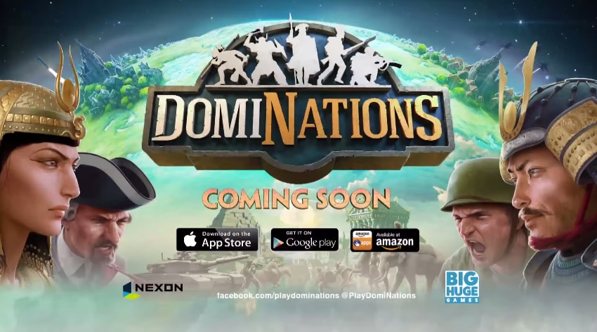 DomiNations Header