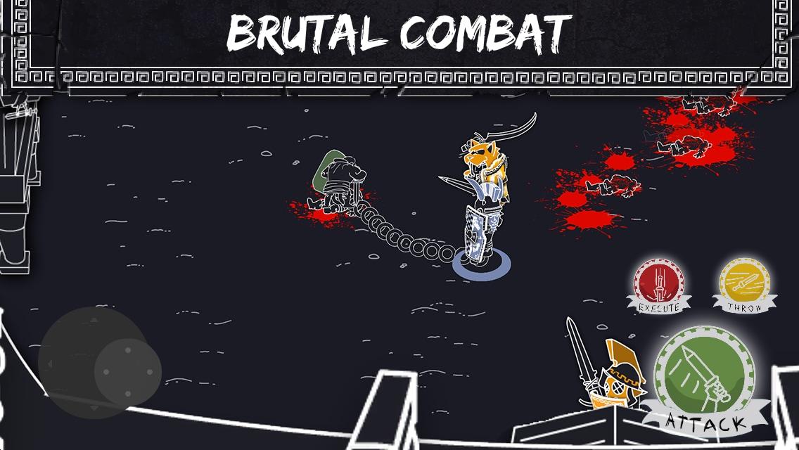 Enterchained: combattimenti tra gladiatori stilizzati su smartphone e tablet (foto e video)