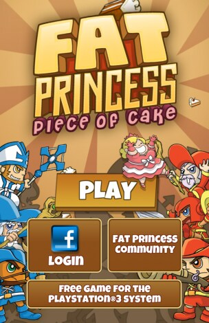 Fat Princess Piece of Cake