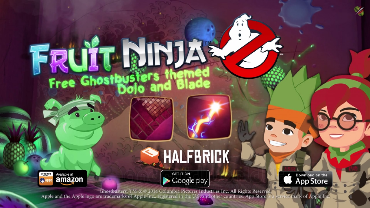 Fruit NInja Ghostbusters Update