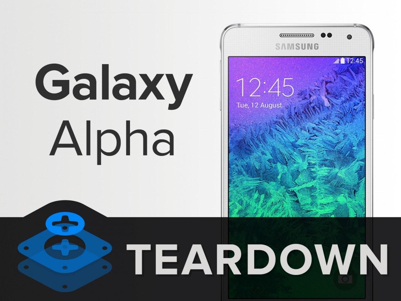 Galaxy Alpha Teardown iFixit