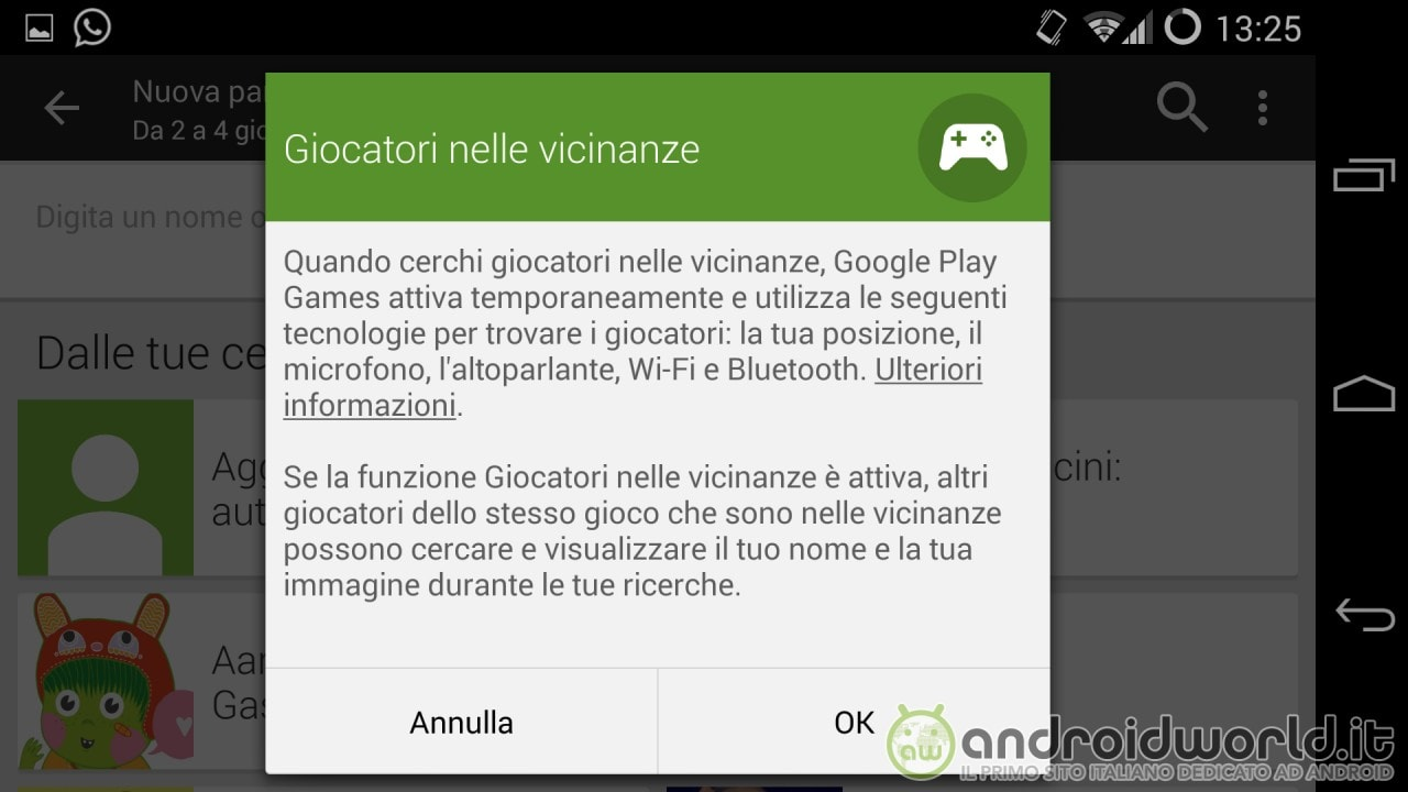 Giocatori nelle vicinanze Google Play Games - 2