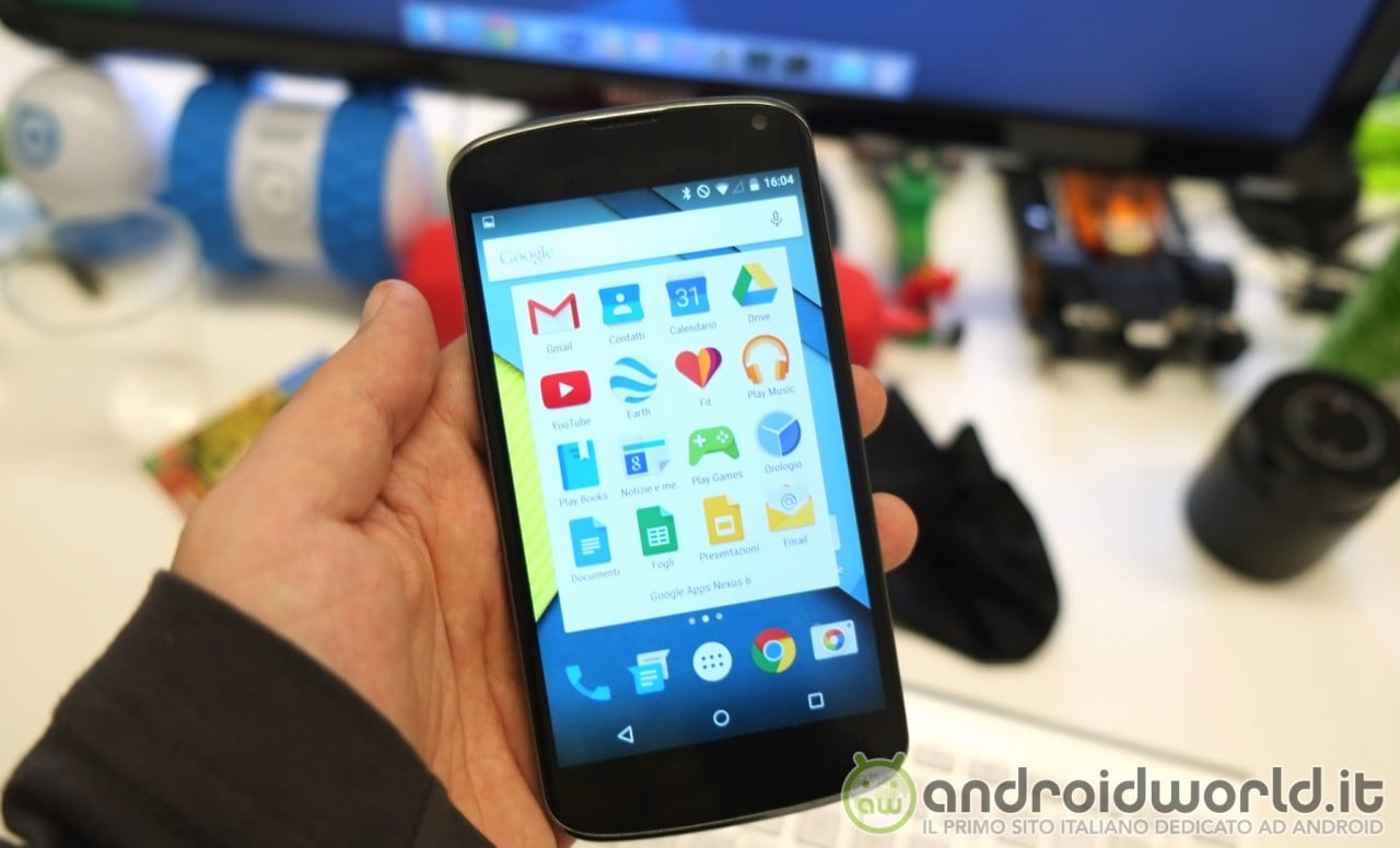 Google Apps Nexus 6