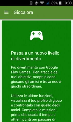 Google Play Games material design 1