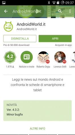 Google Play Store 5.0 -3