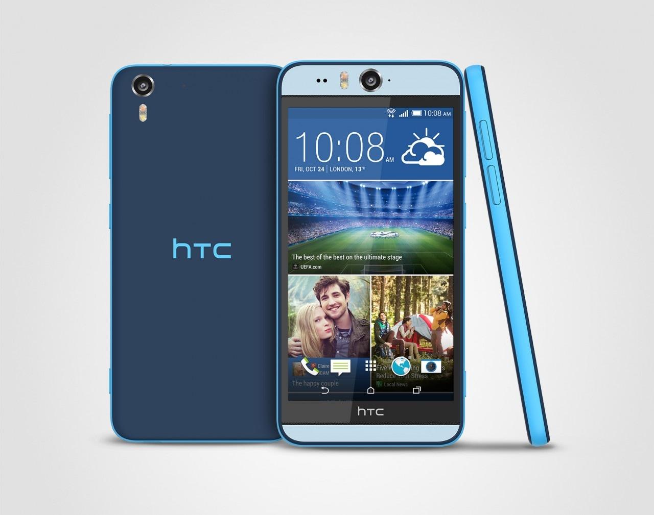 HTC Desire Eye Matt Blue Stack 300dpi