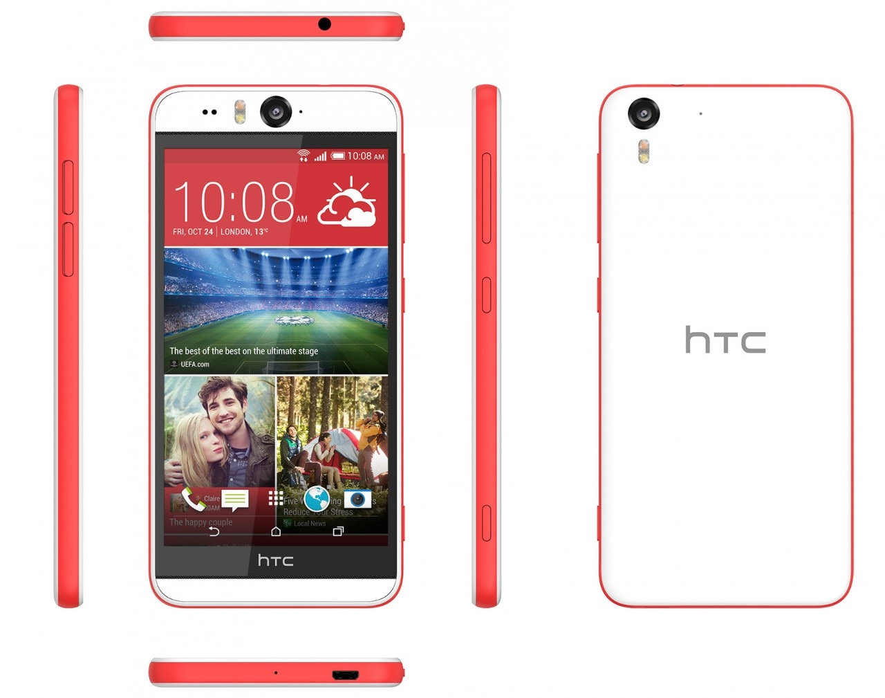HTC Desire Eye ufficiale: doppia fotocamera da 13 megapixel per il Desire più bello di sempre (foto e video)