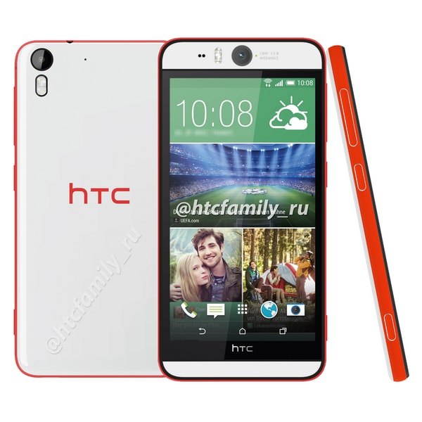 HTC Desire Eye render finale